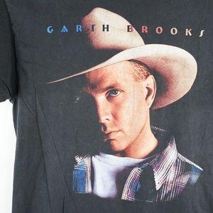 Hanes Shirts - Vintage Mens Sz XL Garth Brooks Fresh Horses 90s